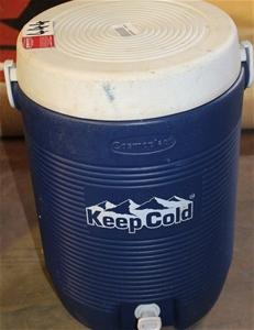 Keep Cold Cosmoplast Cylinder Water Esky