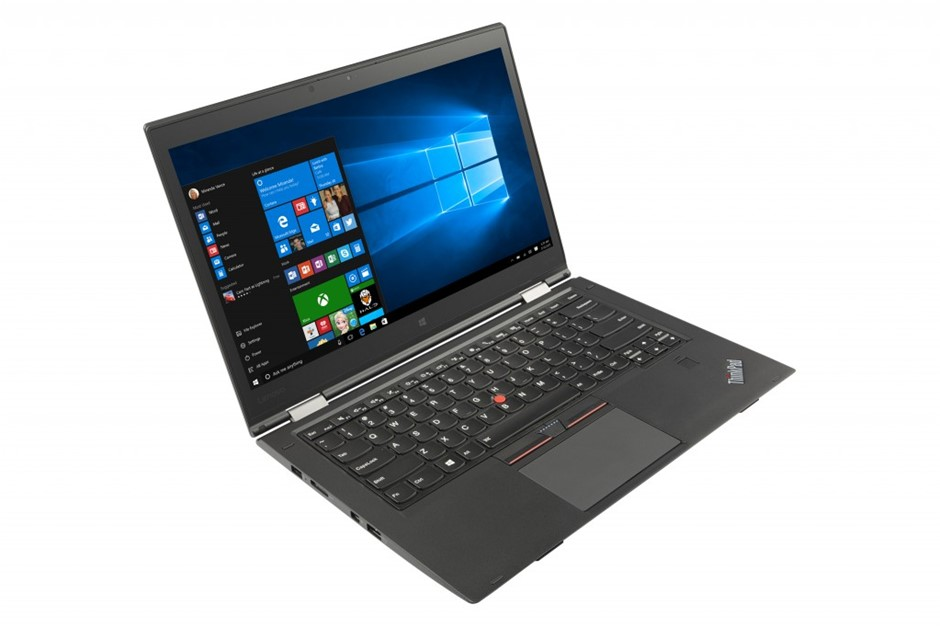 Lenovo ThinkPad X1 Carbon (Gen 7) 14-inch Notebook, Black