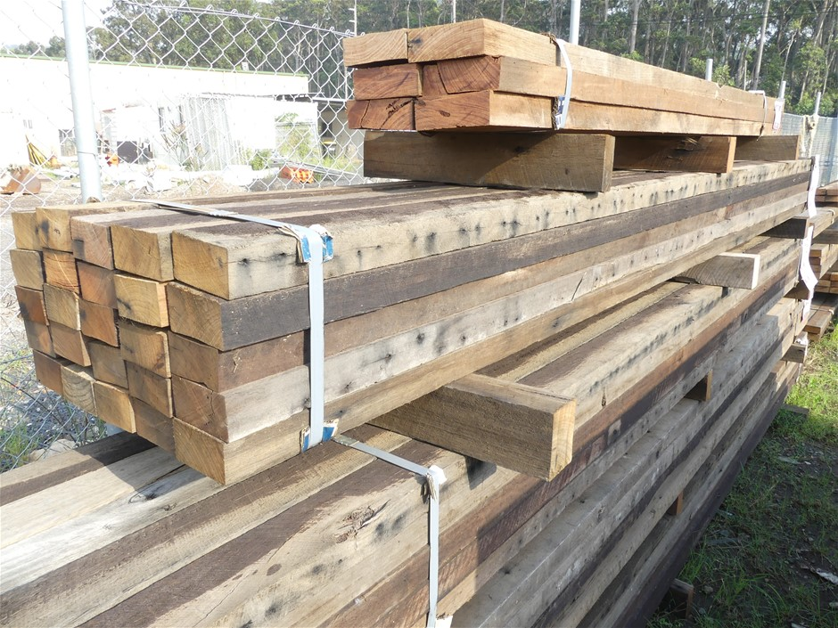 Qty 25 x Mixed Australian Hardwood