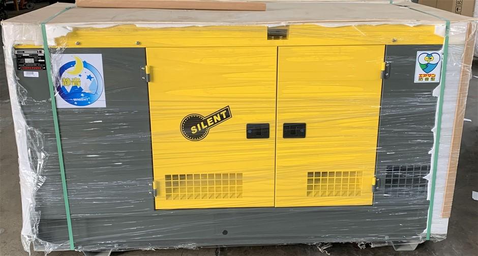 Unused 40KVA Sound Proof Generator - AG3-50