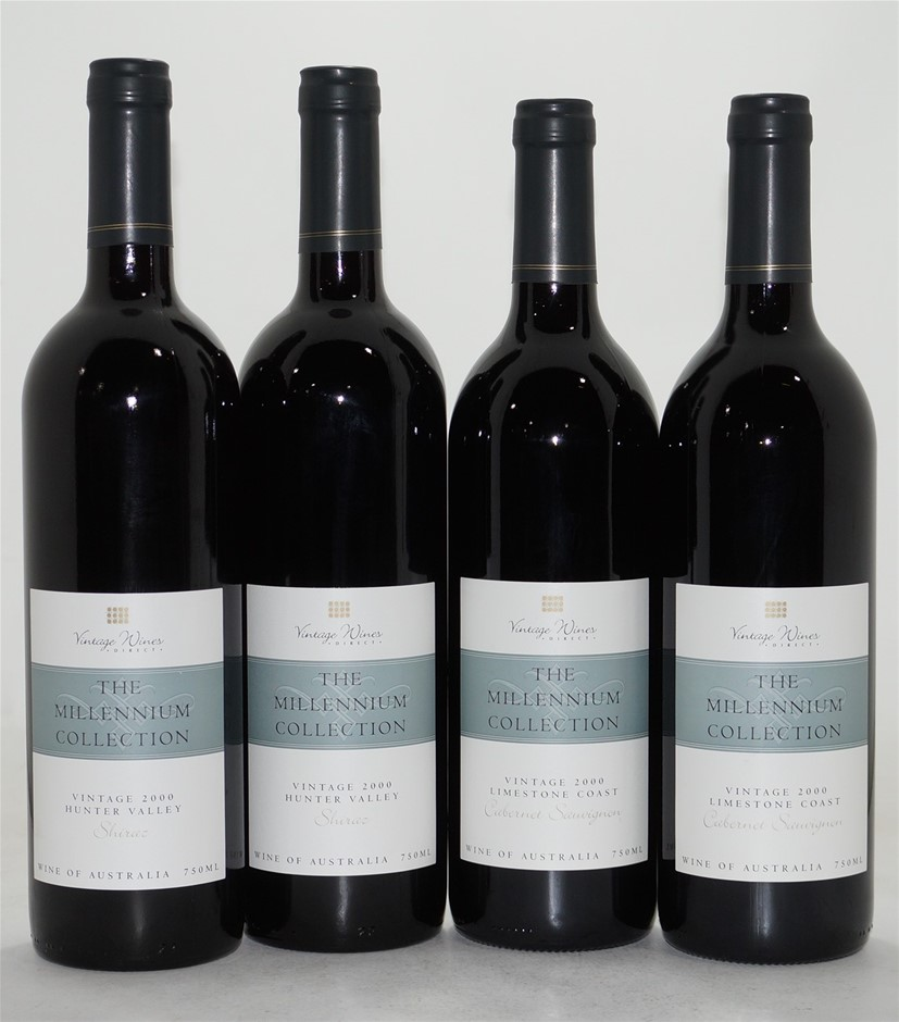 Pack of Assorted Vintage Wines Direct Red (4 x 750mL)