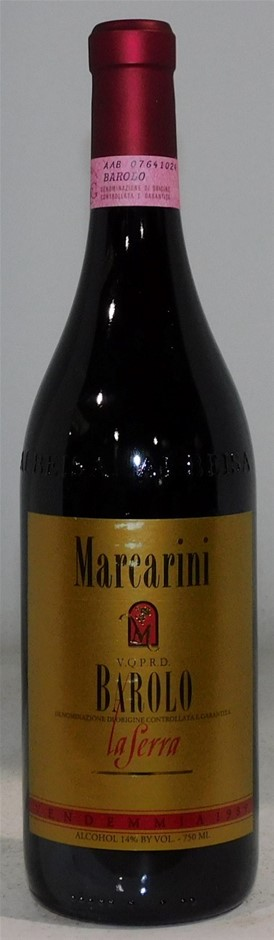 Marcarini La Serra, Barolo 1989 (1x 750mL) Italy. 5 Star Prov