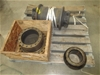 Pallet of 3 Machinery Parts
