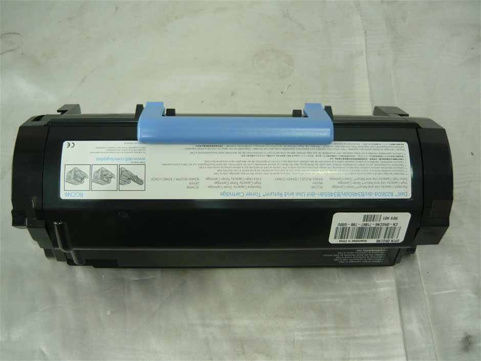 Dell RGCN6 Use And Return Black Toner Cartridge For Dell B34