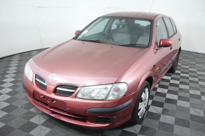 2001 Nissan Pulsar ST N16 Automatic Hatchback