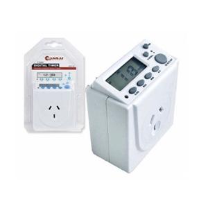 Sansai Power Adaptor - 7 Days Digital Ti