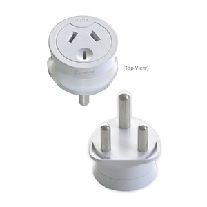 Sansai Travel Adaptor Australia/NZ to In