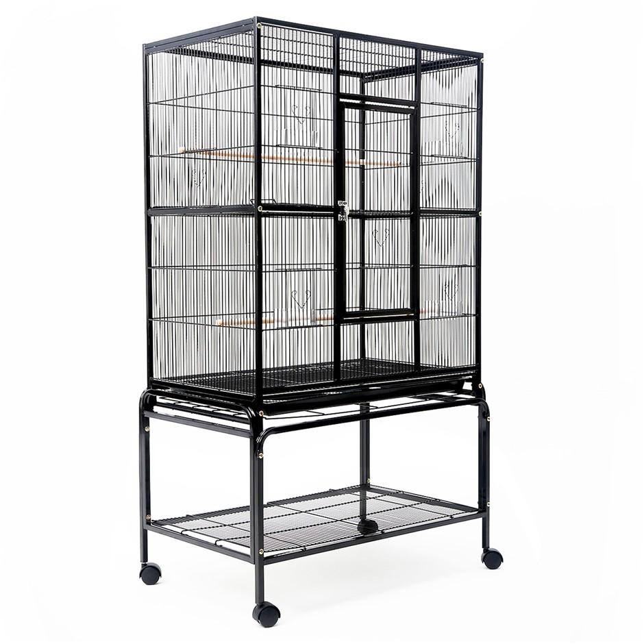 Bird Cage Parrot Aviary MELODY 148cm