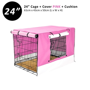 """24"""" Cage + Cover PK + Pad"""