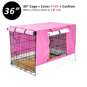 """36"""" Cage + Cover PK + Pad"""
