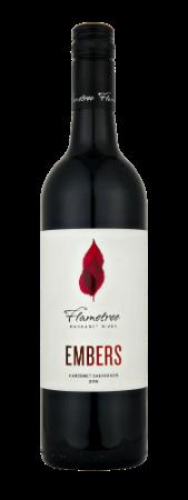 Flametree Embers Cabernet Sauvignon 2018 (12x 750mL). WA.