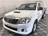 2013 Toyota Hilux SR KUN16R Turbo Diesel Manual Cab Chassis