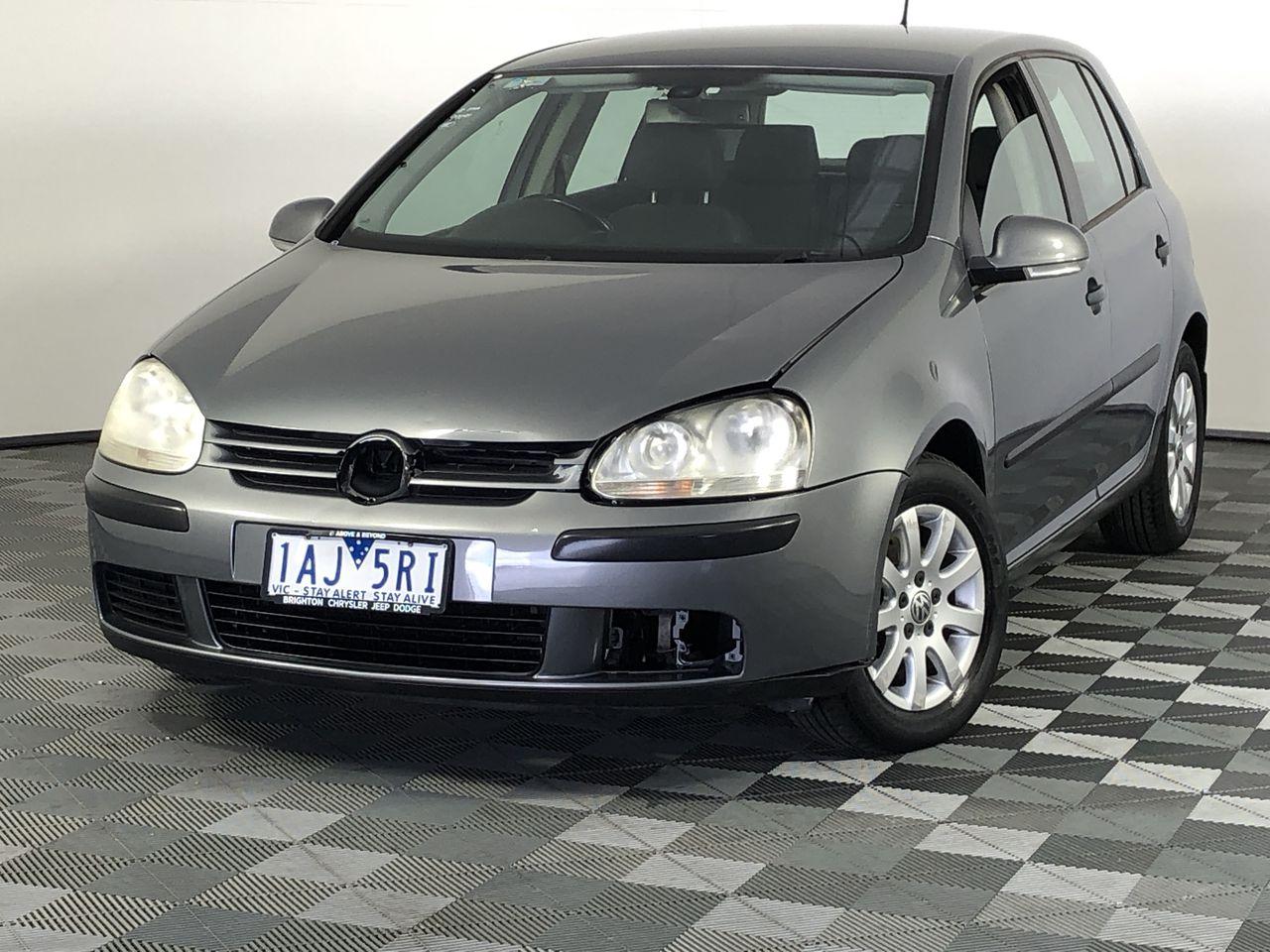 2006 Volkswagen Golf 1.9 TDI Comfortline 1k T/D Automatic Hatchback