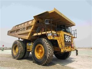 2003 Caterpillar 777D Rigid Dump Truck (
