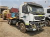 2011 Volvo FMX 400 6 x 4 Left Hand Drive Crane Truck/Service Truck (ST738)