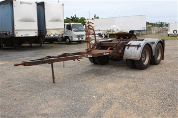 2009 Southern Cross Trailers Standard Tandem Dolly Trailer