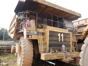 1997 Caterpillar 777D Rigid Dump Truck (