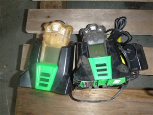 Qty 2 x MSA Altair 4x Gas Detector and C