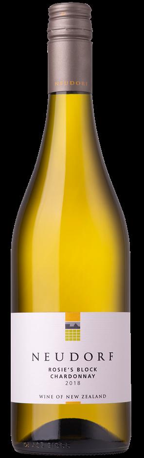 Neudorf Rosie's Block Chardonnay 2018 (12x 750mL). Nelson, NZ.