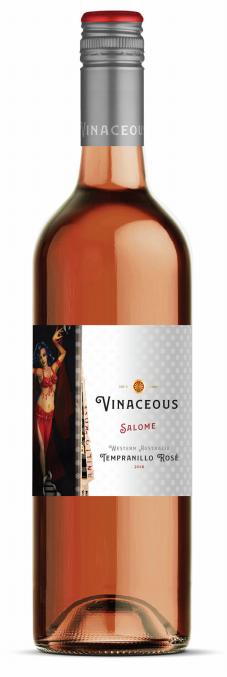 Vinaceous Salome Tempranillo Rosé 2018 (12x 750mL).