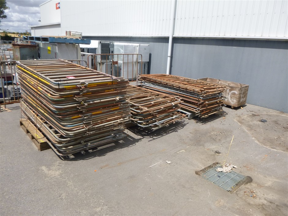 3x Pallets of Crowd Control Barriers (Location: Wangara)
