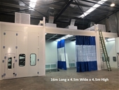 Spray Booth With Ovens