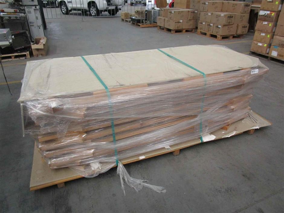 Pallet of 8 x Timber Doors
