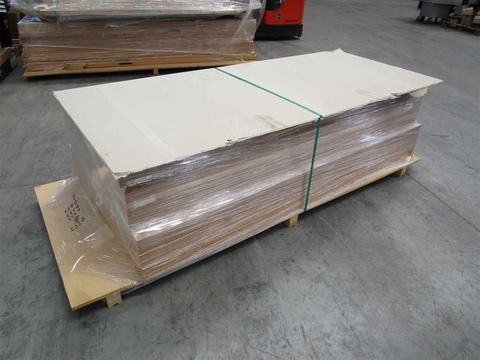 Pallet of 14 x Heavy Weight Timber Doors