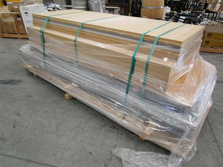 Pallet of 16 x Timber Doors