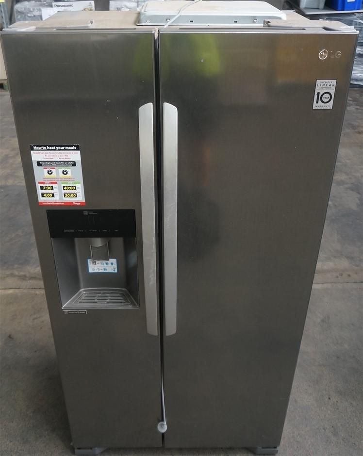 LG GCL197HPNL 563L Side By Side Refrigerator (Steel VCM)