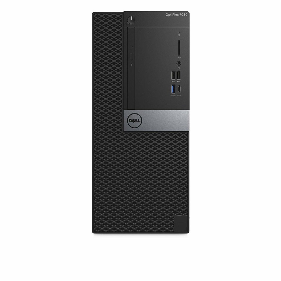 Dell OptiPlex 7050 Tiny Form Factor PC, Black