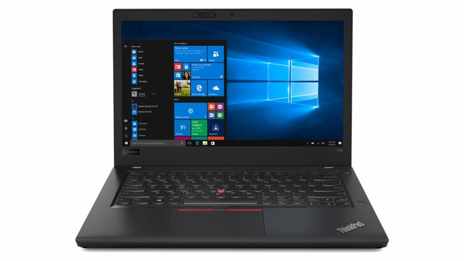 Lenovo ThinkPad T480 14-inch Notebook, Black
