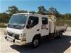 2006 Mitsubishi Fuso Canter FE85 Series 4 x 2 Tipper Truck
