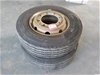 Truck Tyre with Rims (Qty 2)