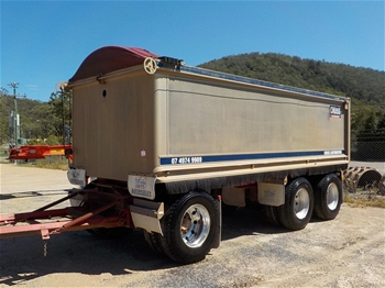 2005 Hercules HEDT3 Triaxle Dog Trailer