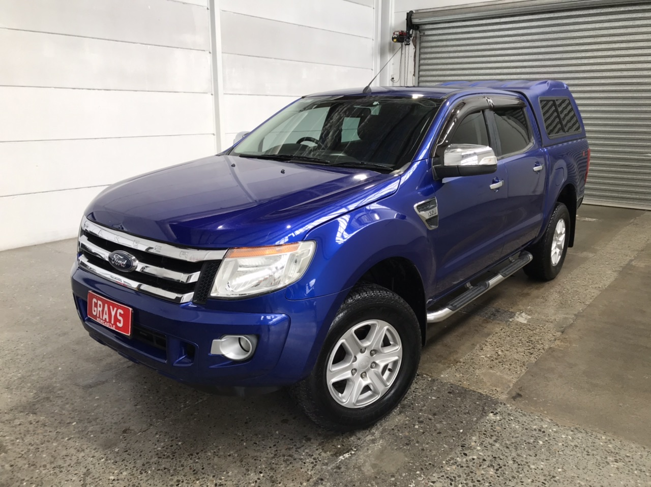 2012 Ford Ranger XLT 3.2 (4x4) PX Turbo Diesel Automatic Dual Cab