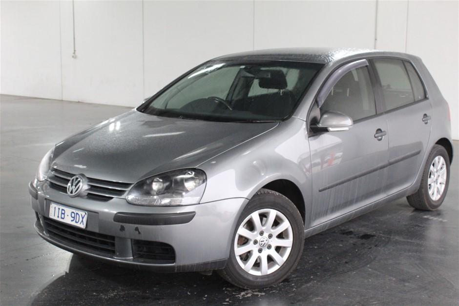 2005 Volkswagen Golf 2.0 TDI Comfortline 1k T/Diesel Auto Hatch