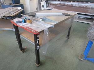 Workbench on Caster Wheels