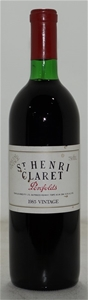 Penfolds St Henri Claret Shiraz 1985 (1x