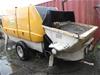 2010 Putzmeister BSA1409D Towable Concrete Pump