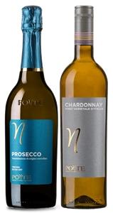 Ponte Prosecco DOC NV and Chardonnay mix