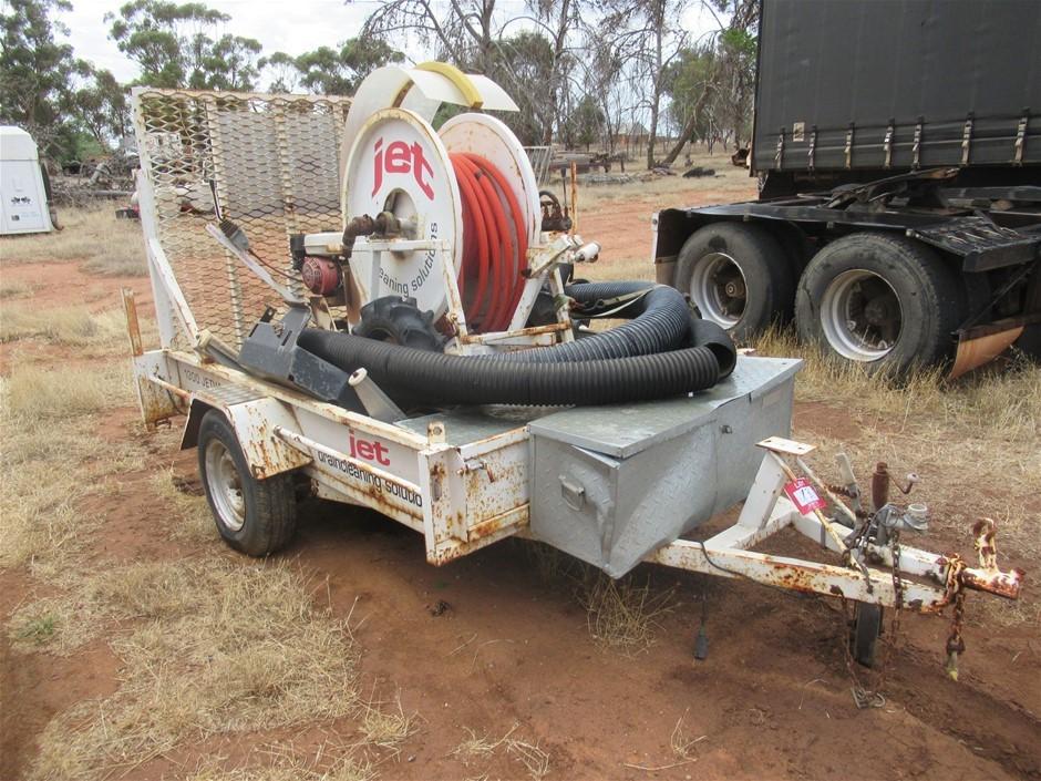 6 x 4 Single Trailer with Jet Pressure Washer (Magdala, SA)