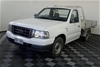 2006 Ford Courier GL PH Turbo Diesel Manual Cab Chassis