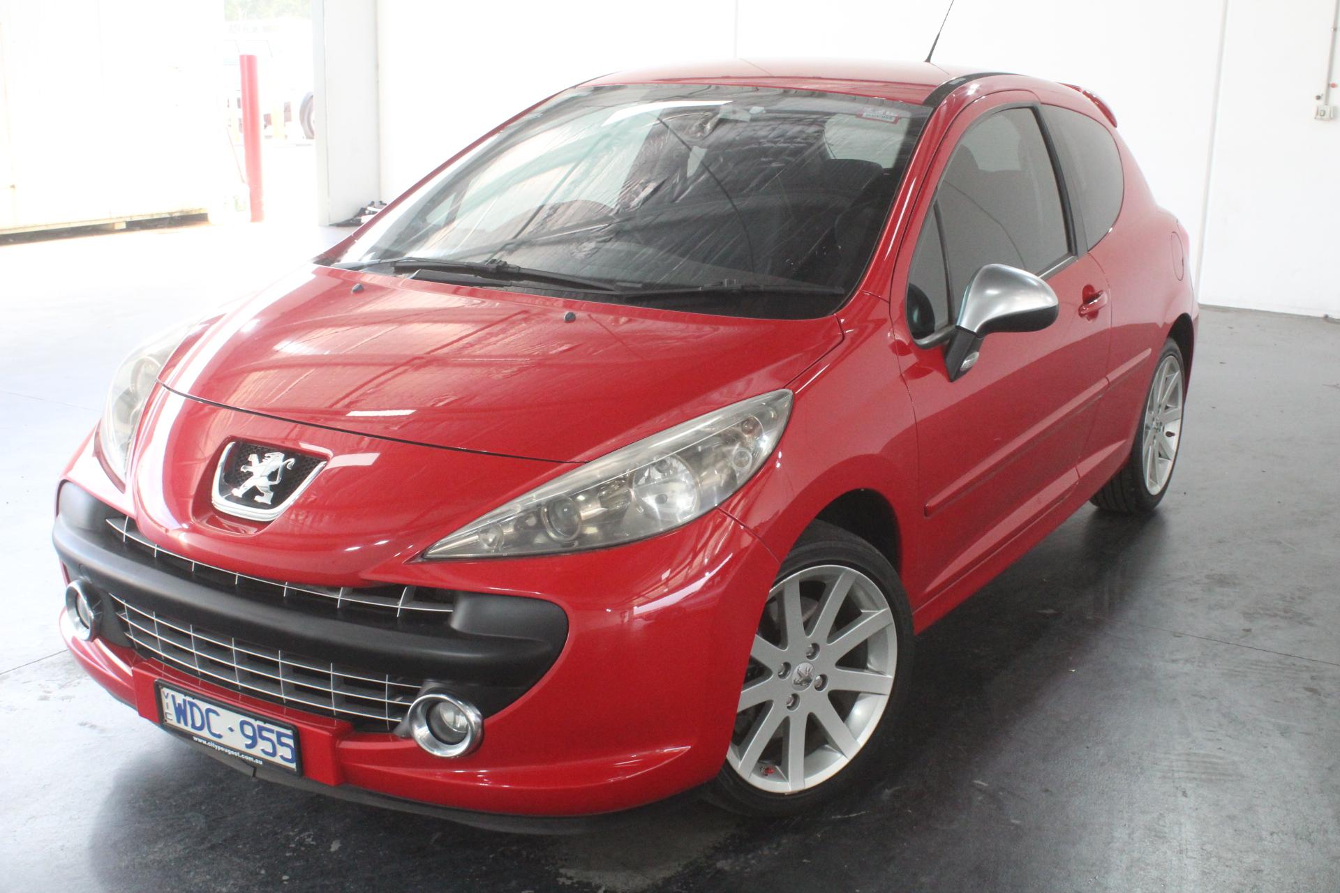 2007 Peugeot 207 GTI Manual Hatchback
