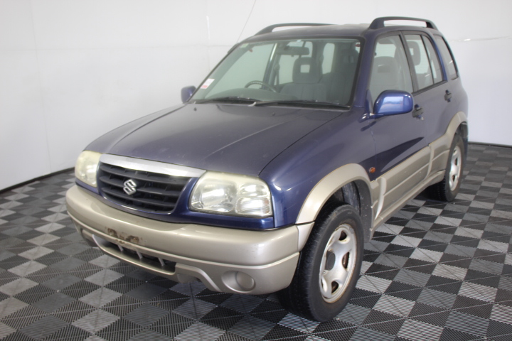 2001 Suzuki Grand Vitara (4x4) Manual Wagon
