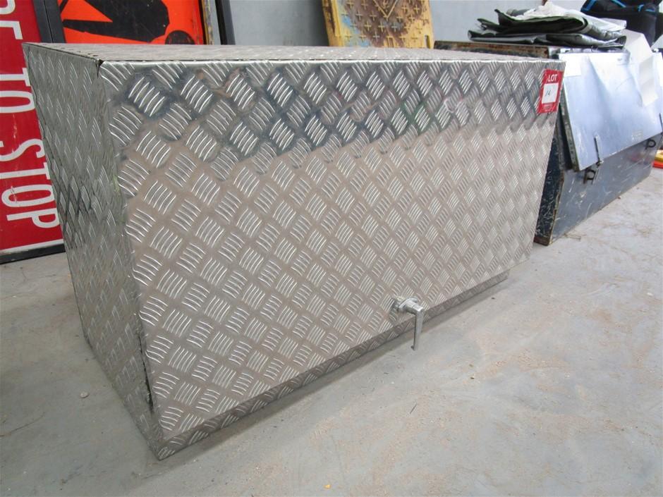 Aluminium Checker Plate Tool Box