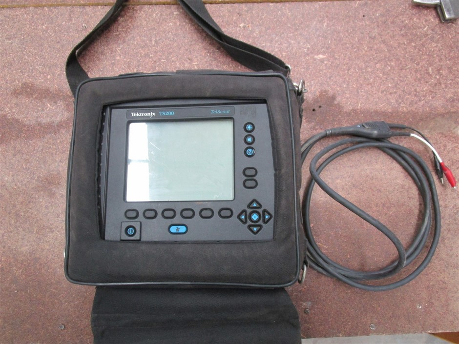 Tektronix TS200 Telscout Test Equipment for Telephone Cable