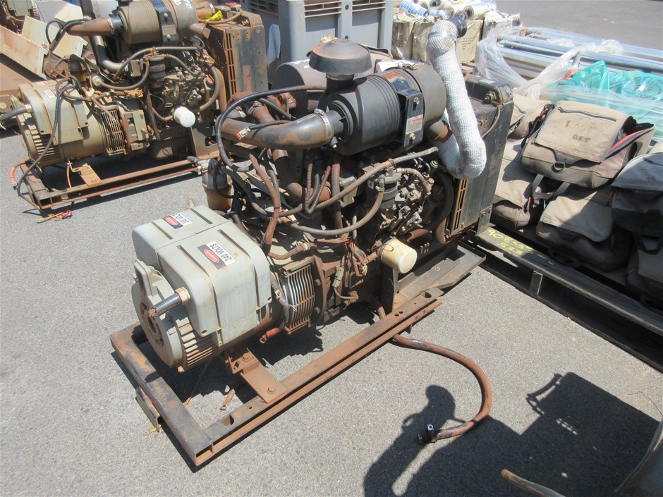 Yanmar 3 Cylinder Turbo Diesel Engine with Alternator (Location: Jandakot)