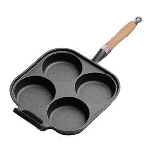 SOGA 4 Mold Cast Iron Breakfast Fried Eg