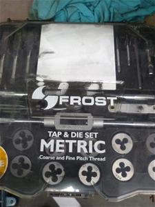 Frost Tap & Die Set Metric
